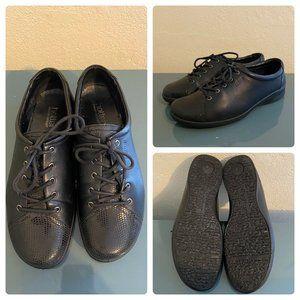Hotter Comfort Concept Black Leather Lace Up Shoes